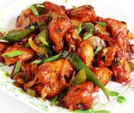 Dried Chicken with Chili Sauce